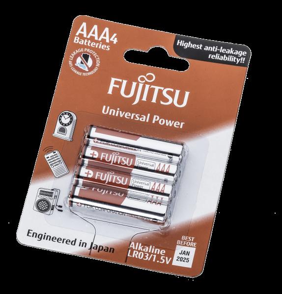Fujitsu - Alkaline Micro / LR 03  VE=4
