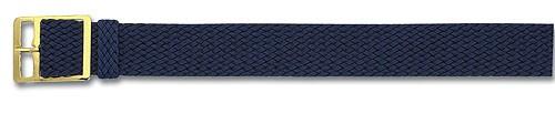 Perlon-Band blau