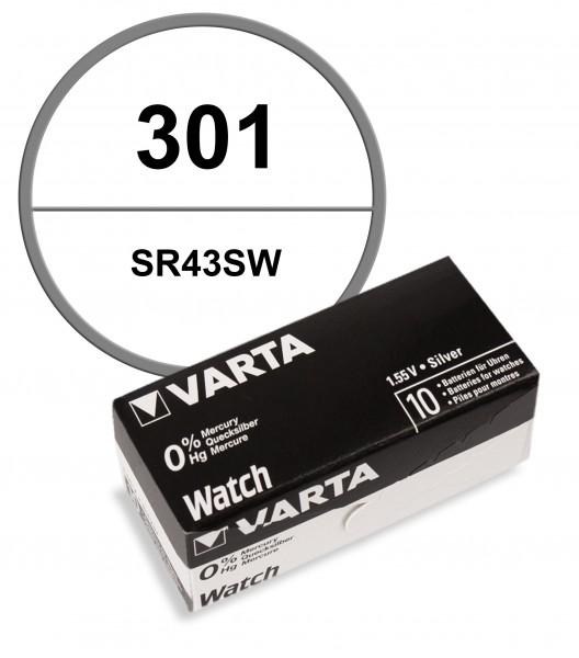 Varta 301 VE=10