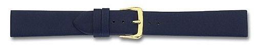 Lederband ohne Naht dunkelblau