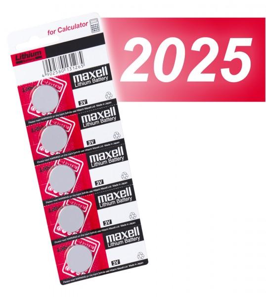 Maxell 2025 VE=5
