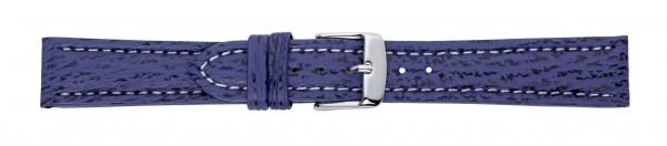 Hai-Lederband blau