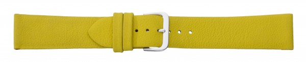Lederband ohne Naht gelb