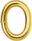 Binderinge oval 3,0x0,8 - 8 Kt. GG VE=5