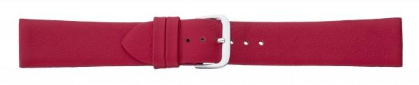 Lederband ohne Naht rot