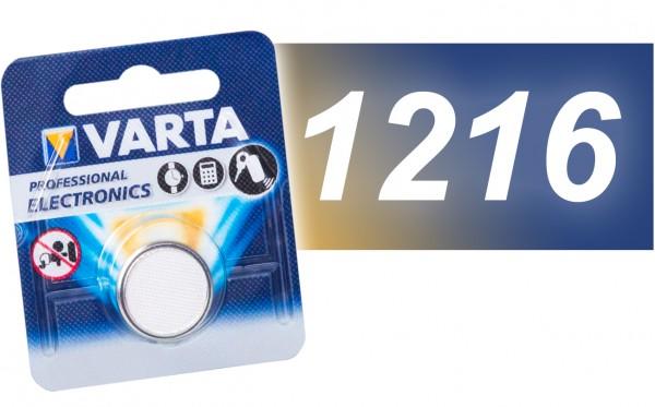 Varta CR 1216 Lithium VE=10