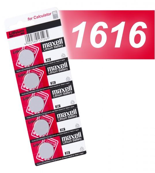 Maxell 1616 VE=5