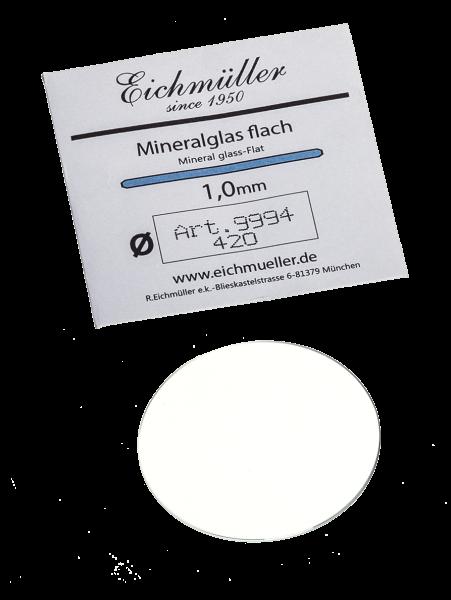 Mineralglas (Flach 1mm) (140-450)