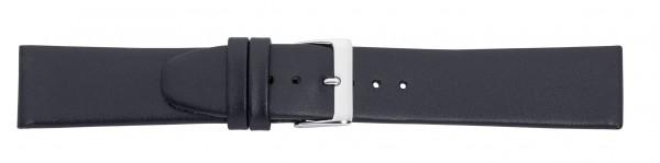Lederband ohne Naht schwarz