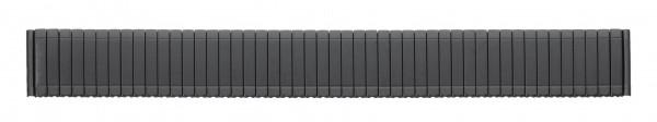 Edelstahlzugband PVD-schwarz