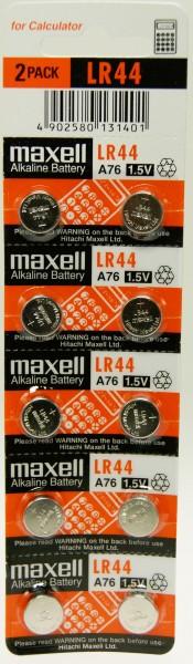 Maxell LR 44 VE=10