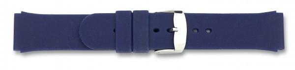 Silikon-Band blau