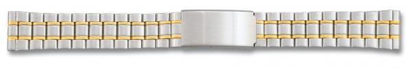 Edelstahlverschlussband bicolor