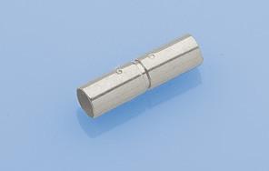 Bajonett-Verschluss 2,7mm, 925 Silber VE=2