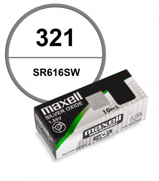 Maxell 321 VE=10