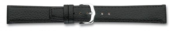 Lederband mit Clip schwarz