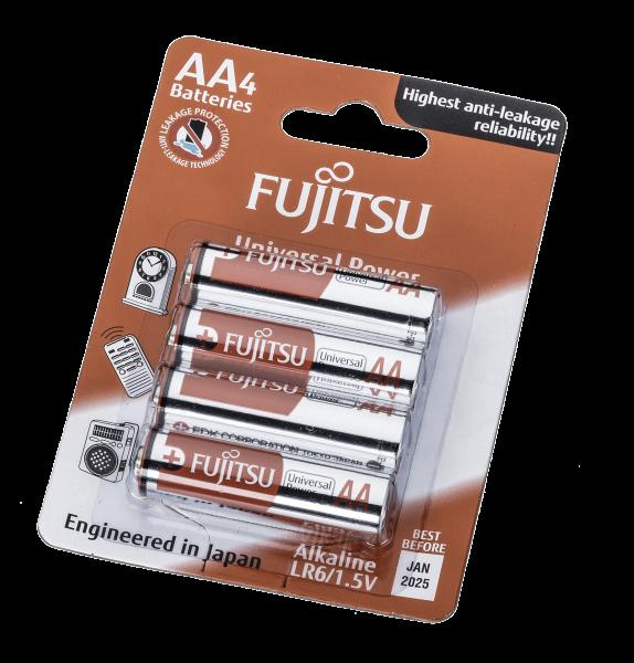 Fujitsu - Alkaline Mignon / LR 6  VE=4