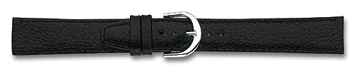 Lederband schwarz XL