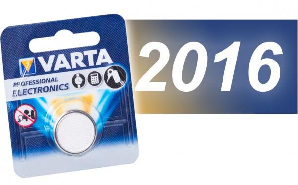 Varta CR 2016 Lithium VE=10