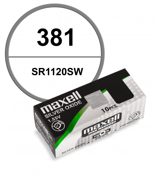 Maxell 381 VE=10