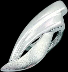 Anhänger mit CZ, Silber 925/-0,6g