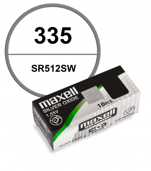 Maxell 335 VE=10