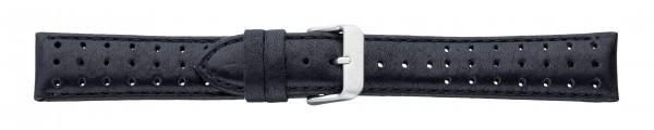 Lederband atmungsaktiv schwarz
