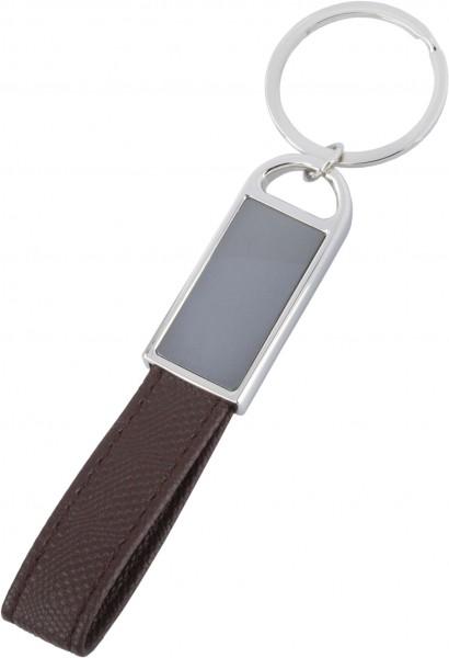 Schlüsselanhänger Leder (hellbraun)