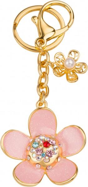 Schlüsselanhänger Blümchen (pink)