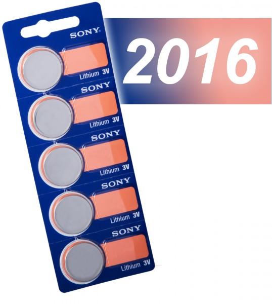 Sony 2016 VE=5