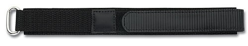 Textilband mit Klettverschluss schwarz