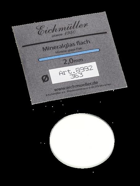 Mineralglas, Stärke 2.0mm (200-400)