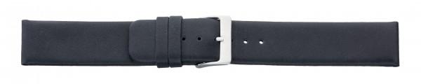 Lederband wasserfest schwarz ohne Naht