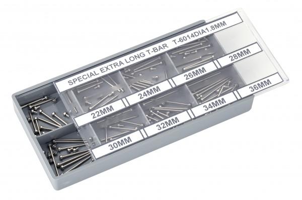 Sortiment Mittelbandstege (80 St.) XL (22-36mm) 1,